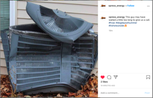 instagram social hvac post ideas
